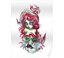mermaid girl from mars Poster