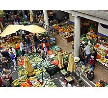 Shop at Your Local Market !! Photographic Print