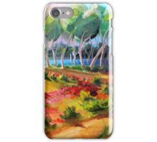Looking at Nudgee Beach  iPhone Case/Skin