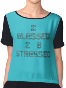 2 Blessed Chiffon Top