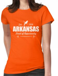 Arkansas Opportunity  Womens Fitted T-Shirt