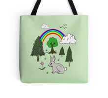 Cute Nature Scene Tote Bag