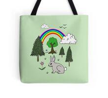 Cute Nature Scene Tote Bag