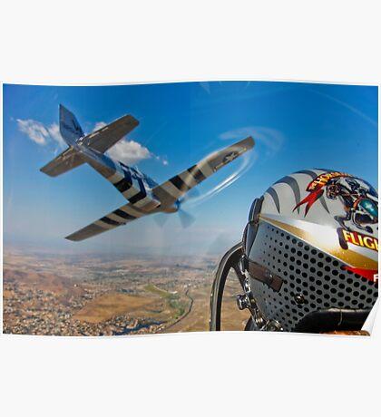 The Horsemen Aerobatic Flight Team Poster