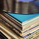 Stack of records. by Lyn  Randle