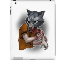 Trick or Treaters - Wolf at the Door iPad Case/Skin