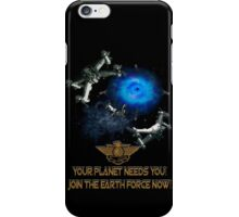 Planet Earth Needs YOU iPhone Case/Skin