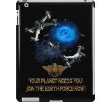 Planet Earth Needs YOU iPad Case/Skin