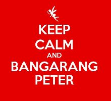 KEEP CALM - Keep Calm and Bangarang Peter // HOOK by hocapontas