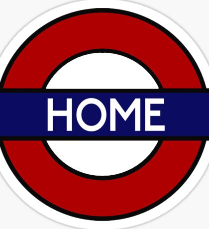 London Underground HOME Sticker