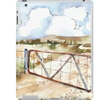 A windpomp and a gate iPad Case/Skin