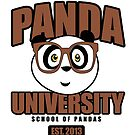 Panda University - Brown by Adamzworld