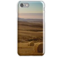 Wheat fields of the Overberg  iPhone Case/Skin
