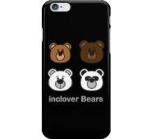 inclover Bears iPhone Case/Skin