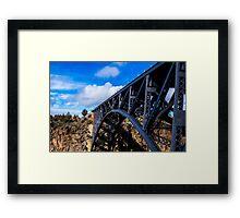 High Trestle Framed Print