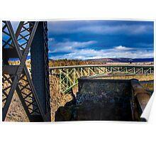 Tres Bridges Poster