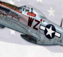 Big Beautiful Doll (North American P-51 Mustang) Sticker