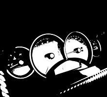 GTO Gauges that look like a Monkey by TswizzleEG