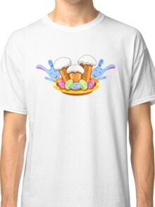 easter cakes with bunny and eggs Classic T-Shirt