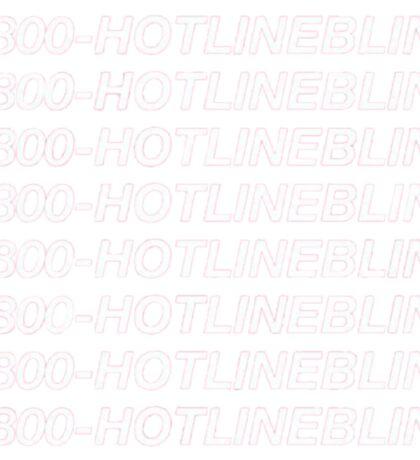 1-800-HOTLINEBLING Sticker