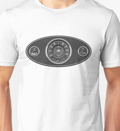 Classic Mini dashboard Unisex T-Shirt