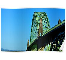 Newport Bridge Poster
