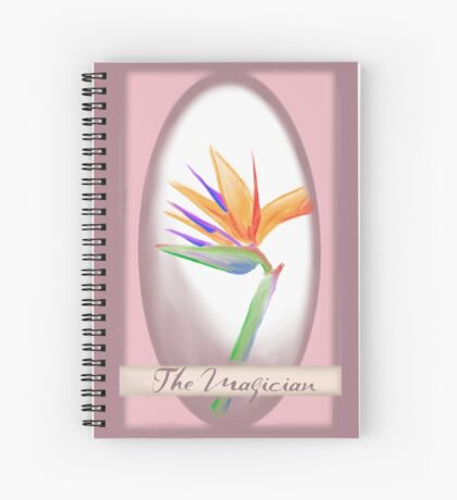 The Magician - Tarot Card Spiral Notebook