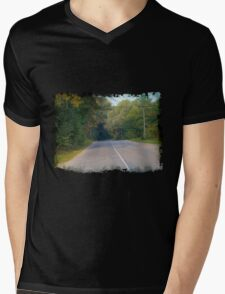 Rural Road Mens V-Neck T-Shirt