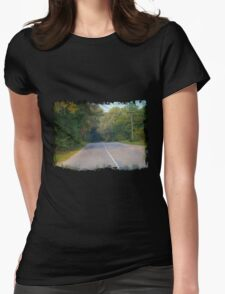 Rural Road Womens Fitted T-Shirt