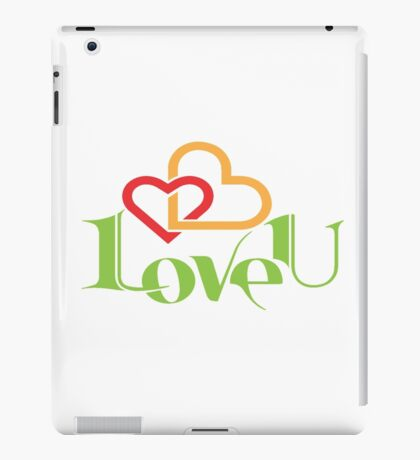 Love You iPad Case/Skin