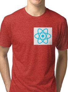 React logo dev Tri-blend T-Shirt