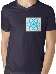 React logo dev Mens V-Neck T-Shirt