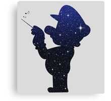 Mario galaxy Canvas Print