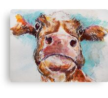 Stroppy Cow Canvas Print