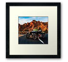 Time Machine/Smith Rock Framed Print