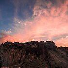 Smith Rock Sunset by Richard Bozarth