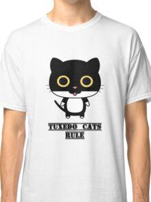 Tuxedo Cats Rule Classic T-Shirt