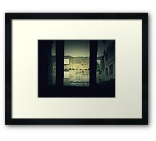 Vintage Abandoned House 2 Framed Print