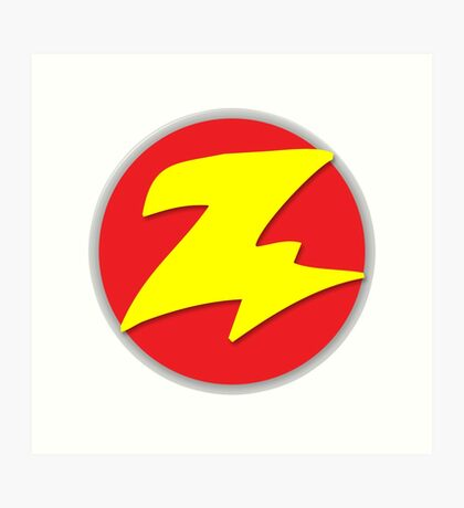 Toy Story - Zurg Logo Art Print
