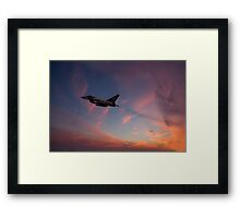 Typhoon Dawn  Framed Print
