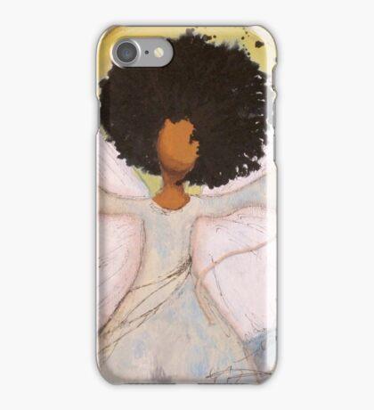 Boundless Angel, African American, Latina, Black Angel iPhone Case/Skin