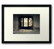 Vintage Abandoned House 3 Framed Print