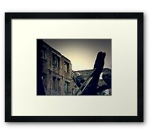 Vintage Abandoned House 4 Framed Print