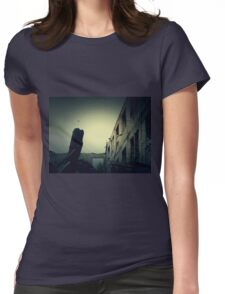 Vintage Abandoned House 5 Womens Fitted T-Shirt