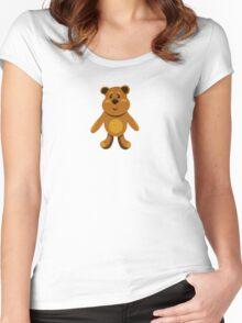 children's teddy bears Women's Fitted Scoop T-Shirt