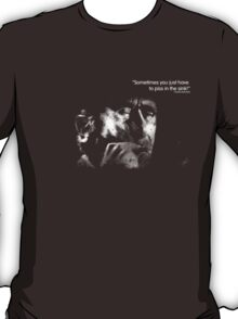 Bukowski 'Sometimes you just have to piss in the sink!' T-Shirt