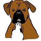 Cartoon Boxer by rmcbuckeye