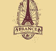 France by bubbliciousart