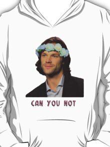 can u not // jared padalecki T-Shirt