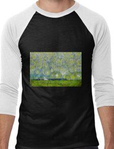 Starry Ballintoy Church Men's Baseball ¾ T-Shirt